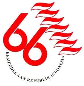 logo hut ri ke 66 - dirgahayu kemerdekaan ri 17 agustus 2011