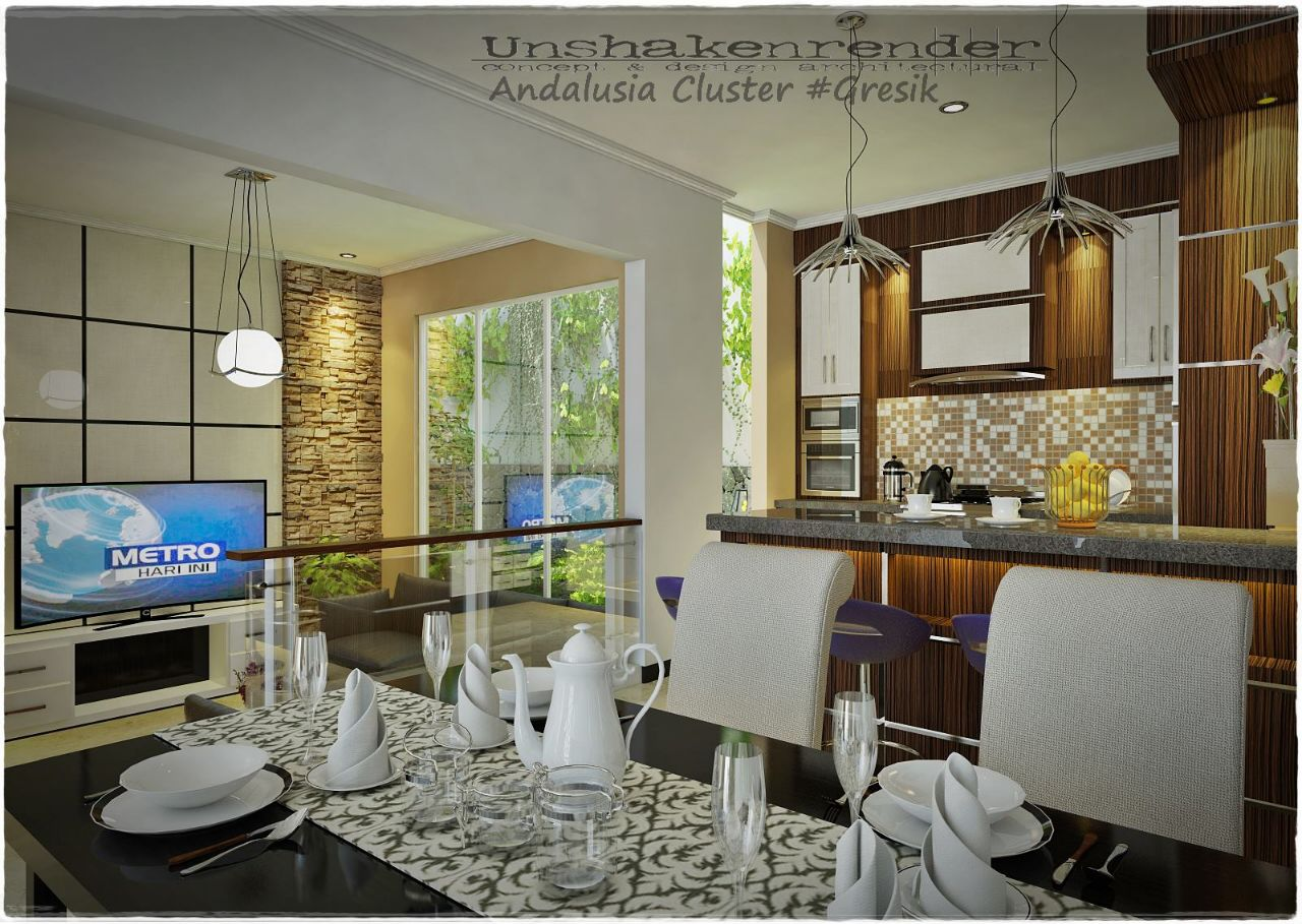 Jasa desain interior gresik andalusia cluster gresik at for Hd home design