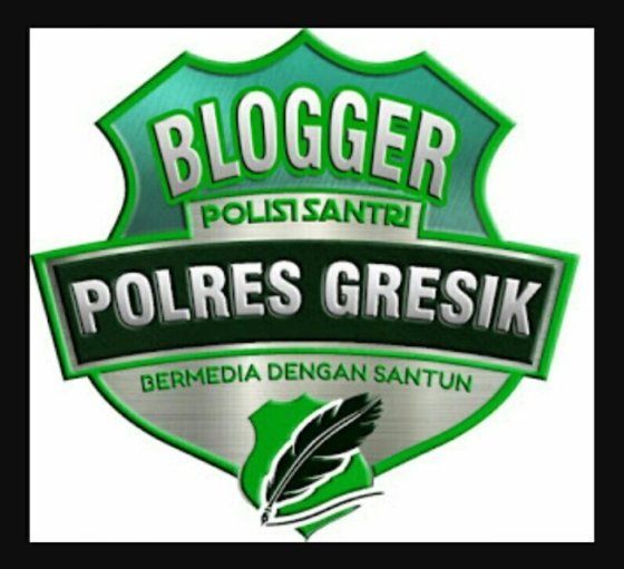 Logo Blogger Polres Gresik Terbaru